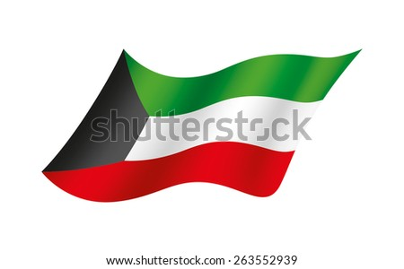 Flag of the Kuwait
