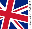 Flag of UK - stock vector