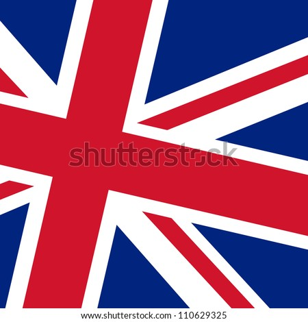 Flag of UK - stock vector