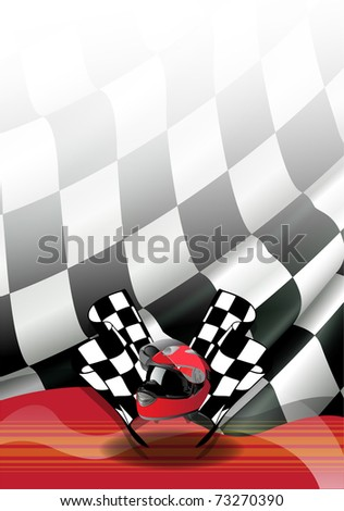 flag vector of one formulates - stock vector