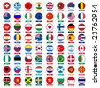 flags icons - stock photo