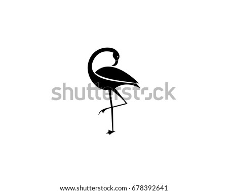 Flamingo logo stock images royalty free images vectors flamingo logo template pronofoot35fo Images