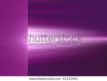 Flash background. - stock vector