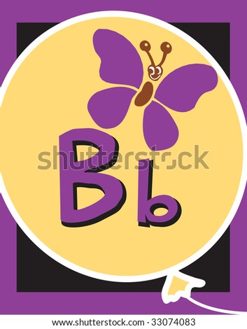 Flash Card Letter B nouns. See whole alphabet in my series!