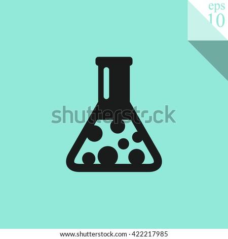 Flask Icon. Flask Icon Vector. Flask Icon Sign. Flask Icon Picture. Flask Icon Image. Flask Icon Illustration. Flask Icon JPEG. Flask Icon EPS10. Flask Icon Logo. Flask Icon Button. Flask Icon Symbol. - stock vector