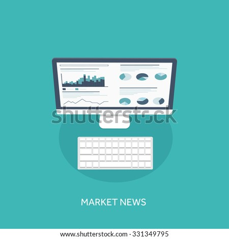Flat background. Coding and programming. SEO. Search engine optimization. App development and creation. Software and program code. Web design. - stock vector