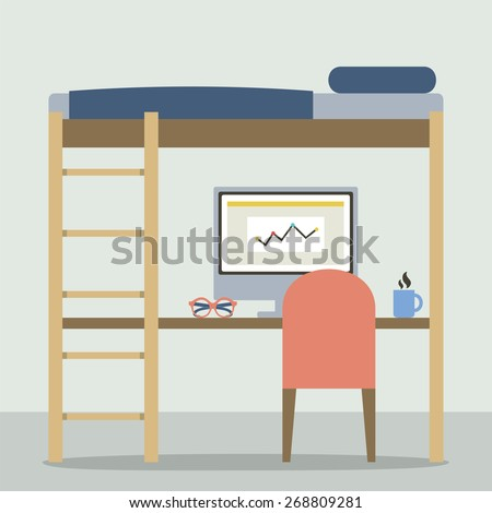Bunk beds Stock Images Royalty Free Images Vectors Shutterstock