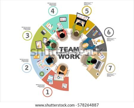 Flat Design Illustration Concepts Business Analysis Stock Vector 578264887 Shutterstock