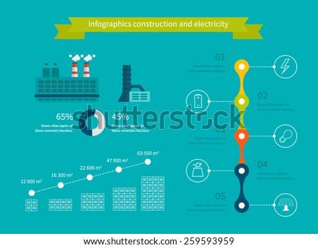 Timeline Infographics Design Arrows Workflow Process Stock Vector ...