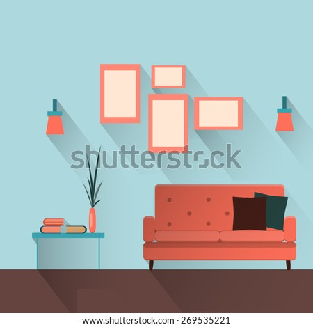 Stock images royalty free images vectors shutterstock for Table flat design
