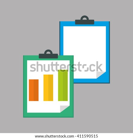Flat illustration of profit design , editable vector