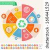 Flat Infographic Elements. Vector Illustration EPS 10. - stock vector