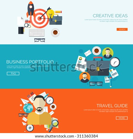 Creative Ideas Business Portfolio Creativity And Targeting Travel Guide