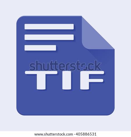 File extension tif open
