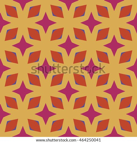 Flat vector texture of geometric shapes. Multicolored abstract pattern in modern style. Can be used for covers, posters, banners with geometric pattern design.