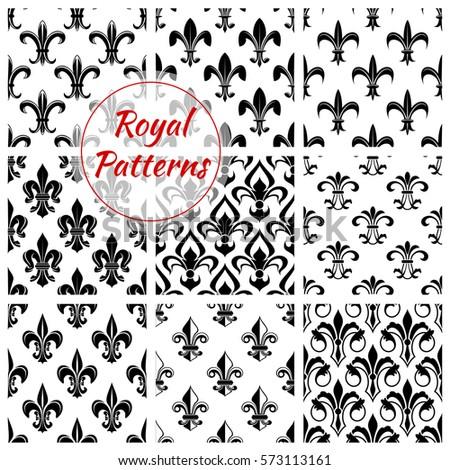 Fleur De Lis Wallpaper Stock Images Royalty Free Images