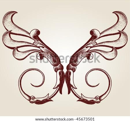 fleurs-de-lis (Lis flower) - stock vector