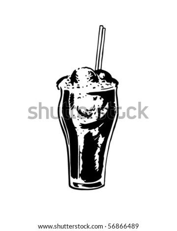 Float - Retro Clip Art - stock vector
