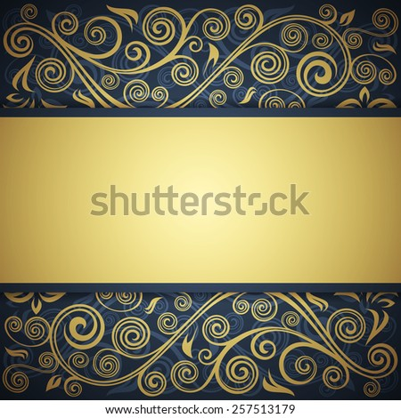 Floral background. - stock vector