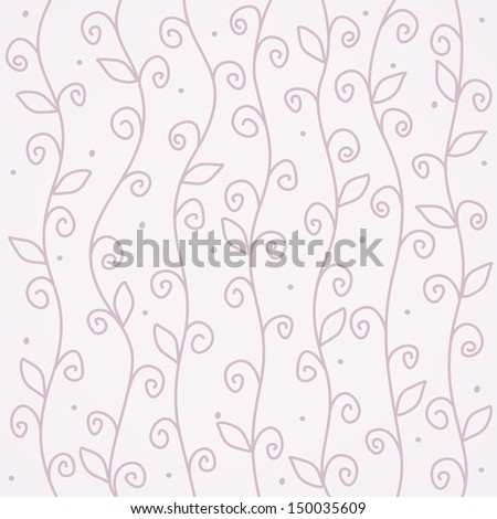 Floral background. Floral pattern. Vintage romantic background. Postcard template. - stock vector