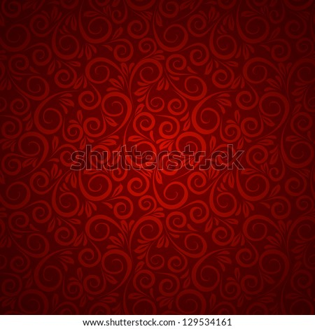 Floral background in vintage style. Vector illustration, eps10, contains transparencies, gradients and effects. - stock vector