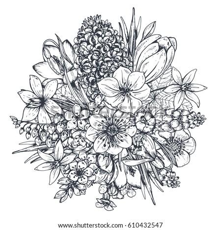 Kitchen Wildflower Design
