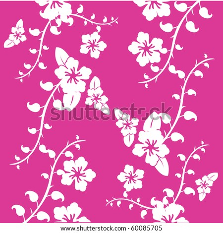 floral pattern for wallpaper, templates and greeting card