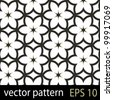 Floral pattern. Seamless vector background - stock photo