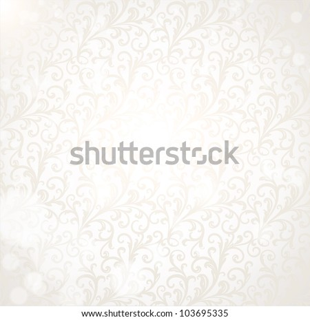 Floral seamless summer ornament - stock vector