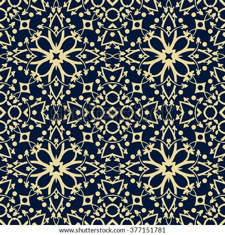 Floral seamless vector pattern that can be used as: background, wallpaper, greeting card and invitation, wrapping paper, textile, on fashion and home products like pillows.