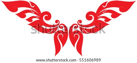 red dragon stock vector 69178393 shutterstock. Black Bedroom Furniture Sets. Home Design Ideas