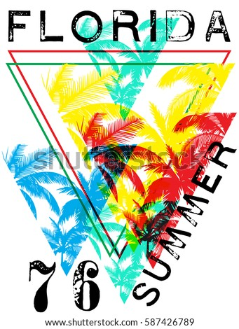 florida summer tee graphic design - Free Images To Print