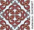 flourish tiled pattern....