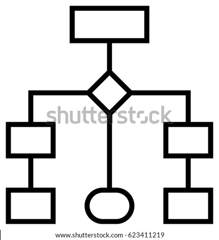 flowchart icon stock images royalty free images vectors. Black Bedroom Furniture Sets. Home Design Ideas