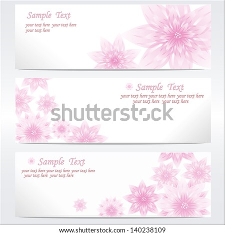 Flower background. wedding invitation card