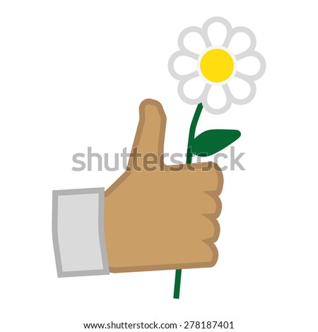 Flower Like icon - stock vector