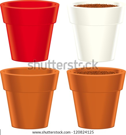 Flower Pot Stock Images Royalty Free Images Vectors Shutterstock
