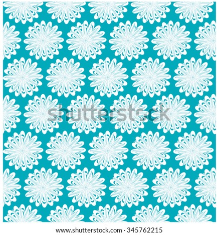 Flower repeat pattern
