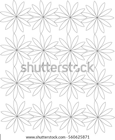 Flower Shaped Pattern
