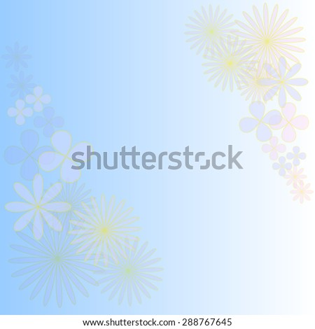 flowers design for background pattern