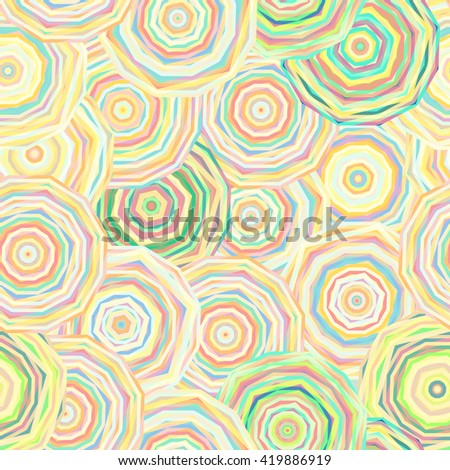 flowers round pattern yellow background ornamental