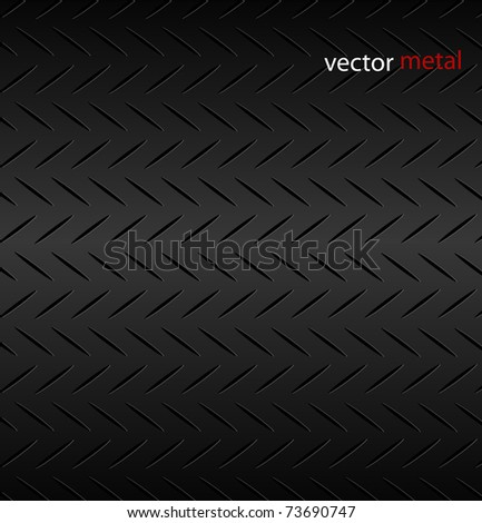 Fluted metal texture pattern. Vector Illustration.