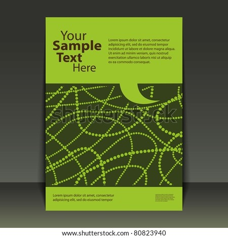 Flyer Design - Business - stock vector