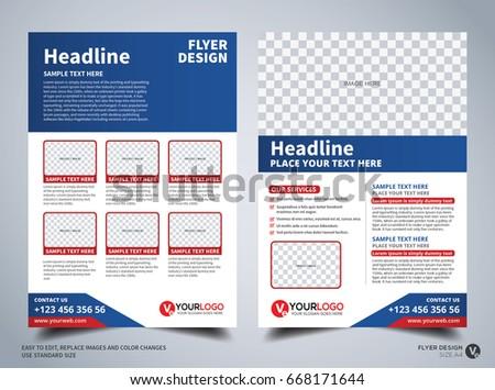Flyer design template vector leaflet design stock vector hd royalty flyer design template vector leaflet design poster design business flyer cover design wajeb Gallery