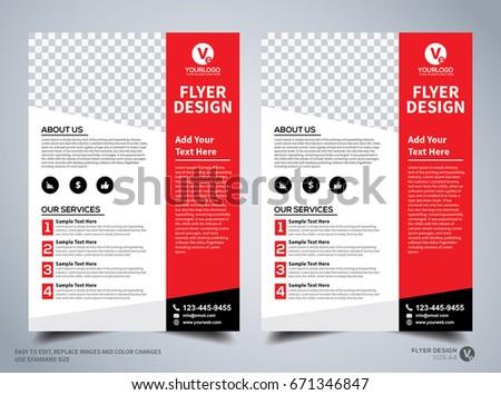 Flyer design template vector leaflet design stock vector royalty flyer design template vector leaflet design poster design business flyer cover design cheaphphosting Images