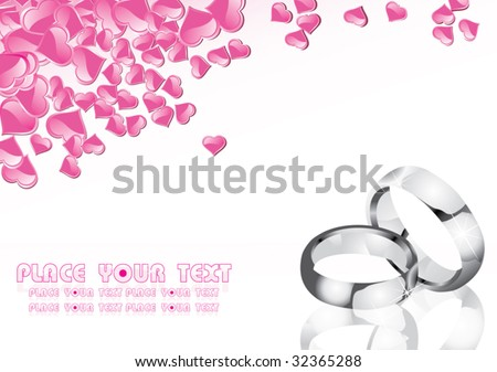Flyer / Invitation - stock vector