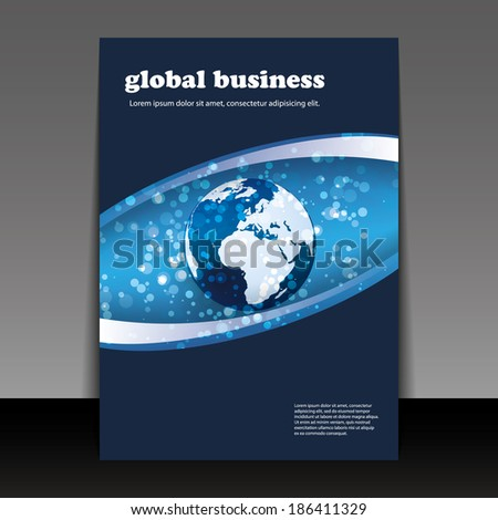 Flyer or Cover Design - Global Business