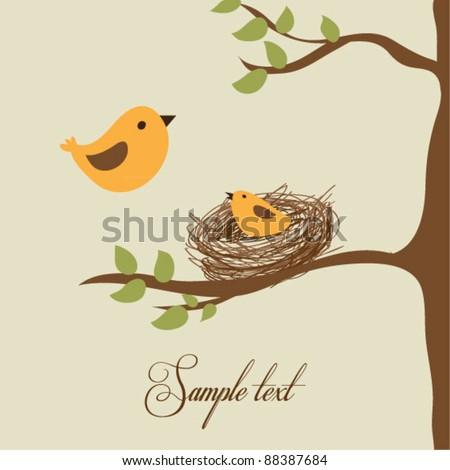 Bird flying from nest - photo#21