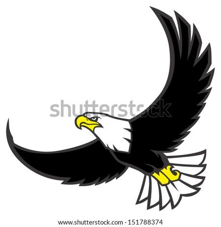 Flying Eagle Stock Vector 151788374 - Shutterstock  Baby