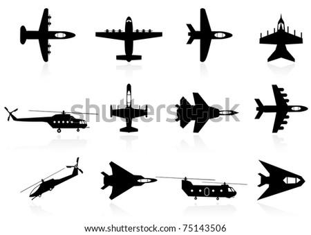 flying machine - stock vector